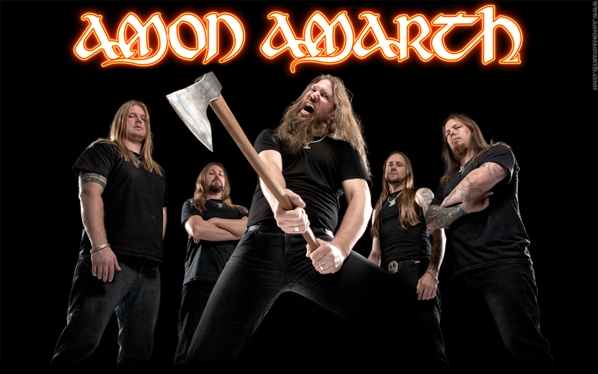 Watch Amon Amarth Perform Live In San Francisco, California