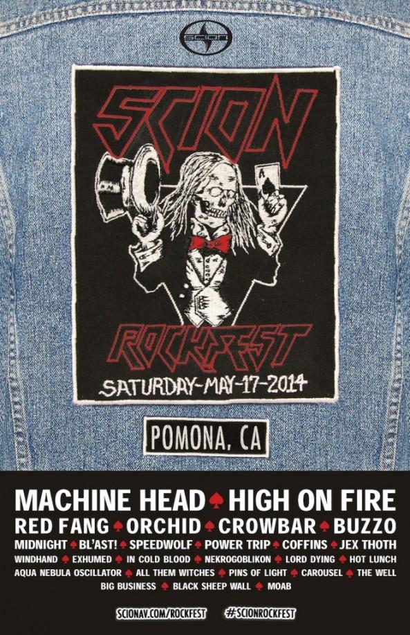 Scion Rock Fest Full 2014 Line Up Announced