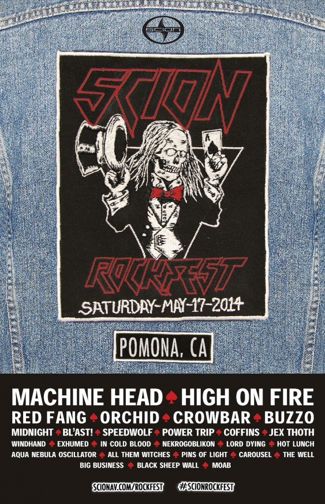 Scion Rock Fest Full 2014 Line Up Announced