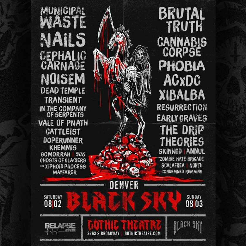 Denver Black Sky 2014 announced.