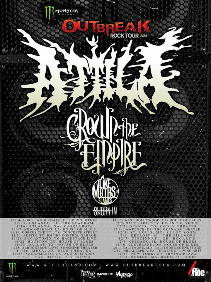 Attila Live In Sacramento,California