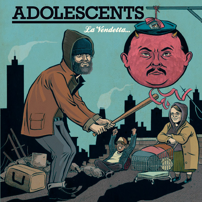 ADOLESCENTS RELEASE NEW ALBUM TO CELEBRATE 35TH ANNIVERSARY – ON FRONTIERRECORDS