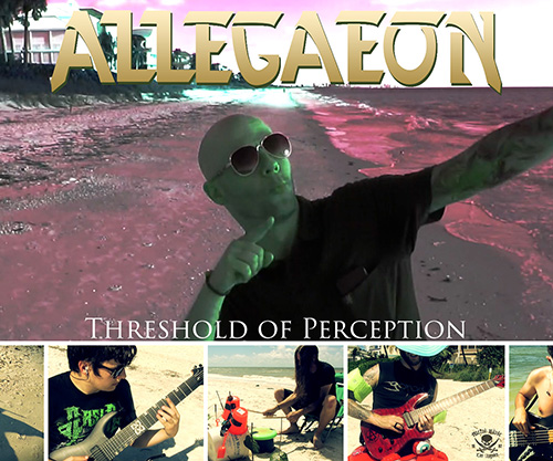 "Allegaeon's ""Threshold Of Perception"" Brand Spankin' New Music Video"