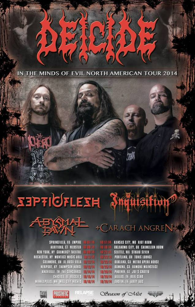 New Deicide Video Interview In Oakland And Performance Footage In San Francisco