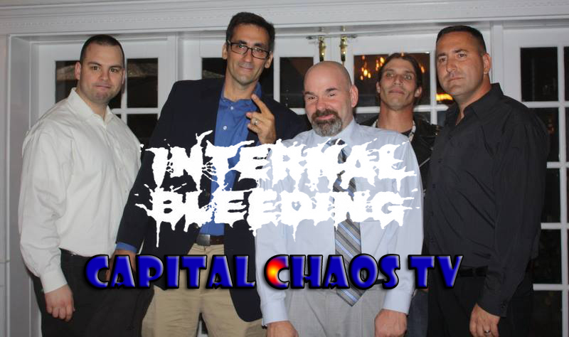 Internal Bleeding Video Interview And Performance Footage Live In San Francisco, California