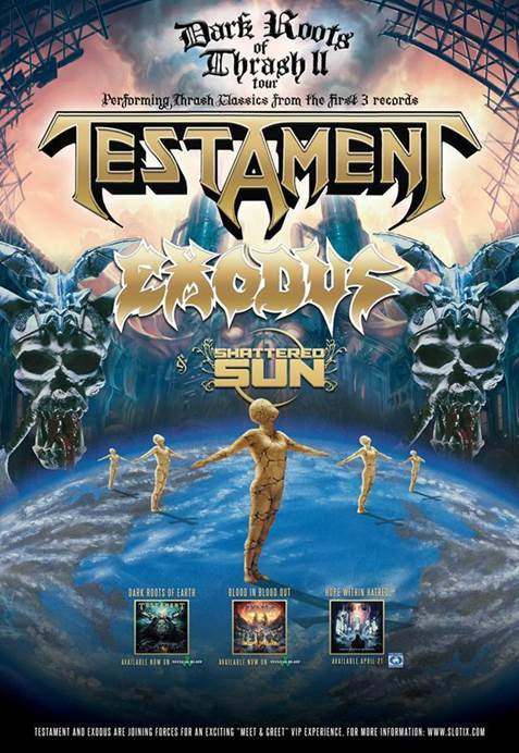 New Performance Video Of Testament And Exodus Live In San Francisco