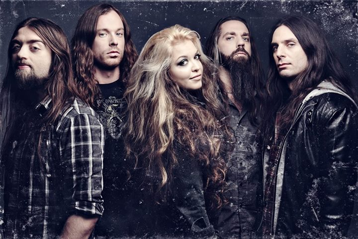 """THE AGONIST announce Revolver Magazine's """"Women In Rock""""Tour"""