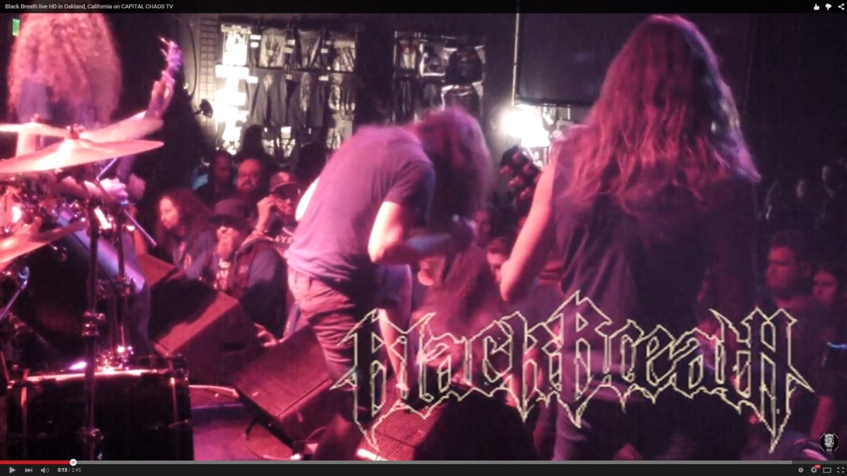 Black Breath Beatdown In Oakland, California