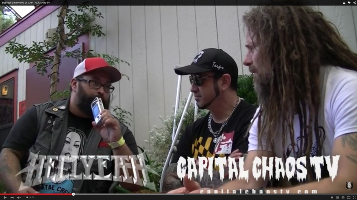New Hellyeah  Video Interview @ Rockstar Mayhem Festival 2015