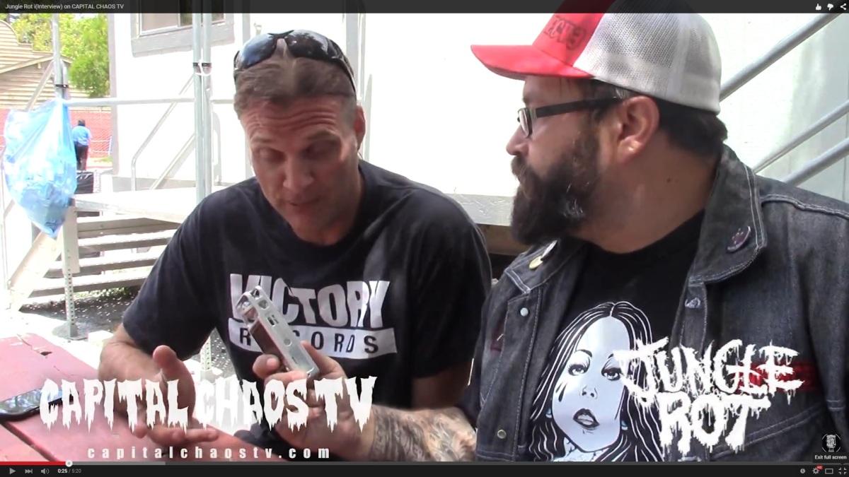 New Jungle Rot Video Interview @ Rockstar Mayhem Festival2015