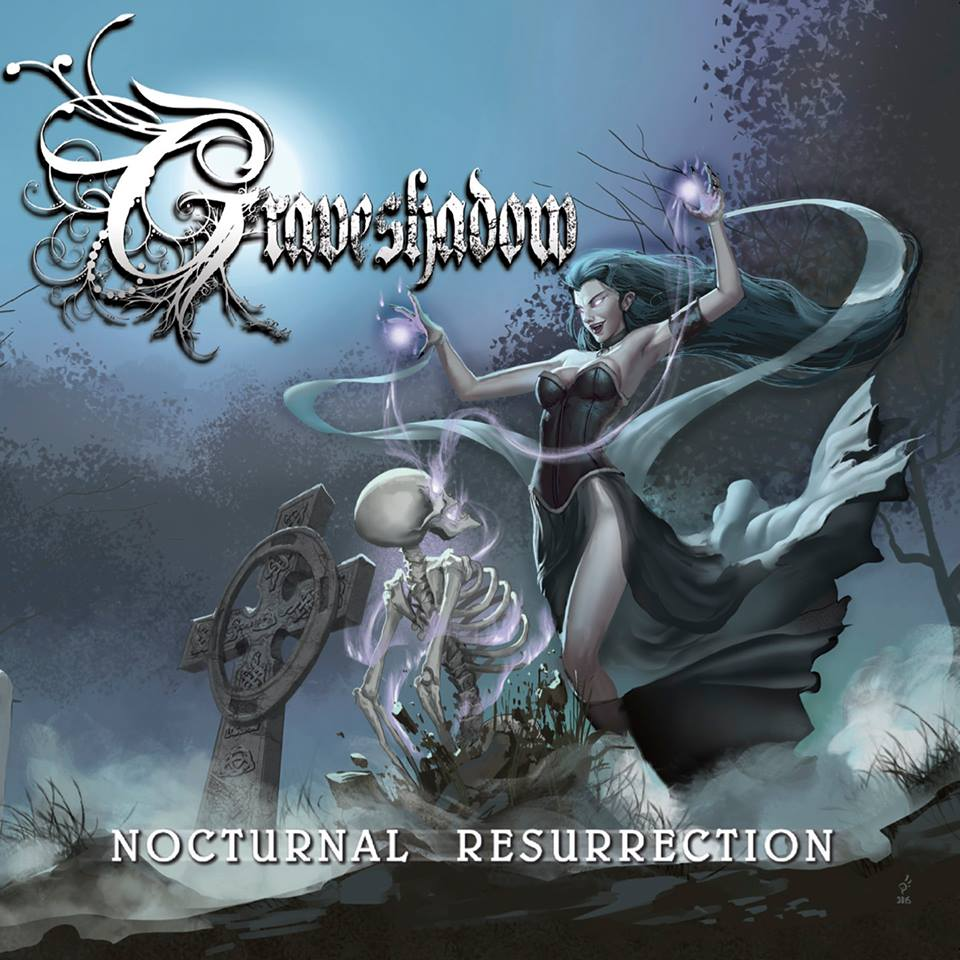 Sacramento's Graveshadow Sign With MausoleumRecords