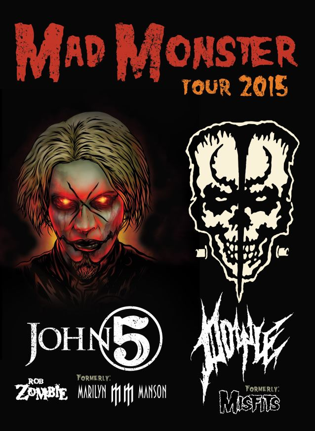John 5 and Doyle to Hit The Road on 'Mad Monster'Tour