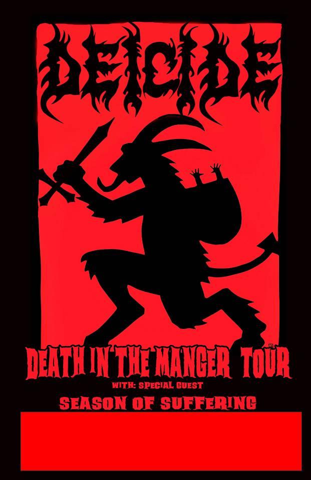 """Deicide announces 'Death In The MangerTour"""""""