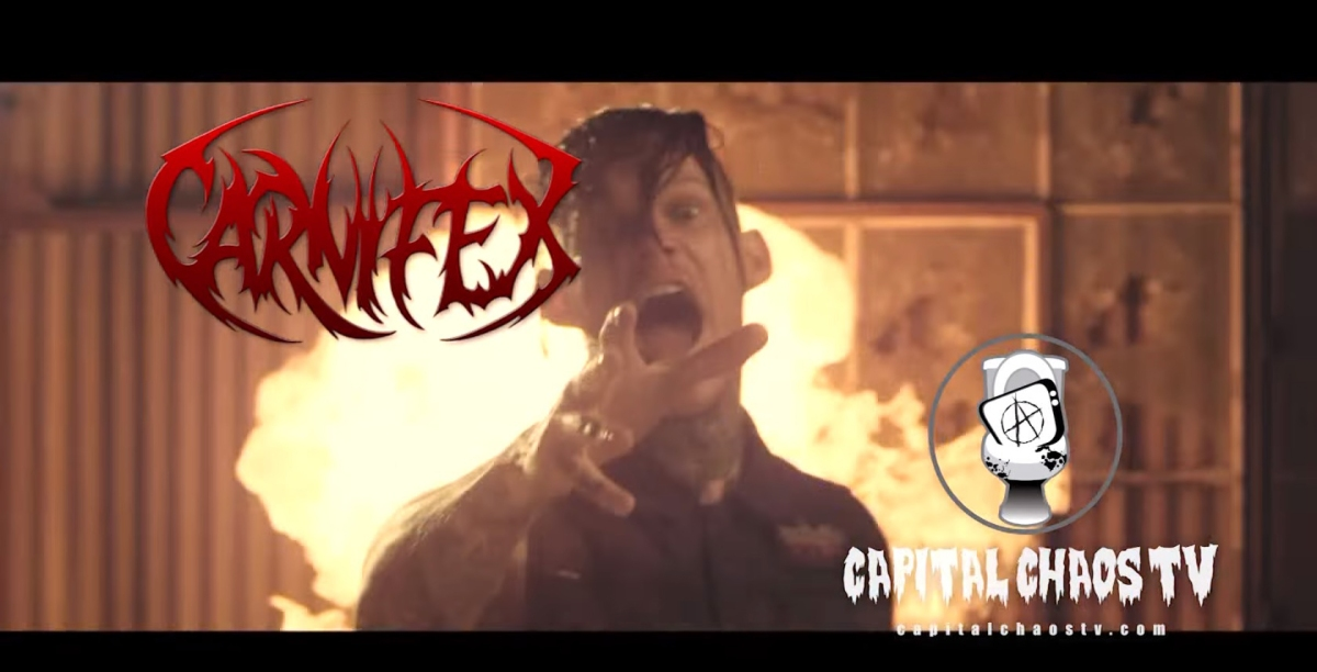 Carnifex Interview At The Boardwalk On The 10th Anniversary Of TheBand