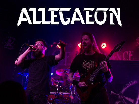 Allegaeon Confirms Riley McShane As New Vocalist‏
