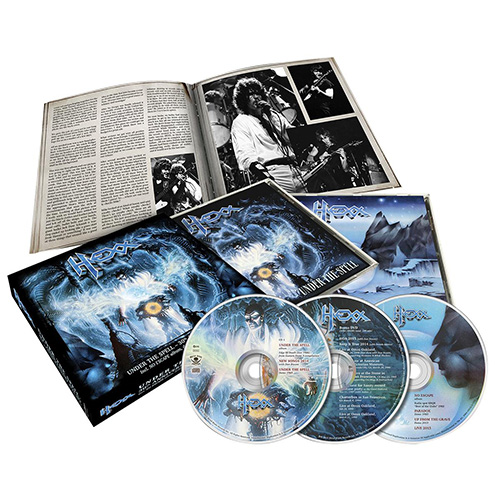 "Hexx to release ""Under The Spell"" 30th anniversary boxset in January!‏"