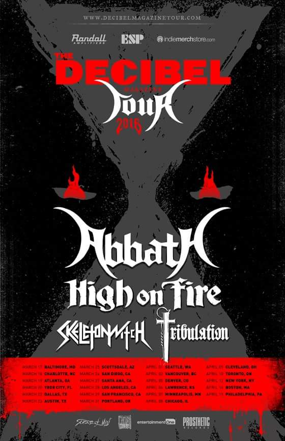 Abbath Rages Immortal In San Francisco LIVE VideoStreaming