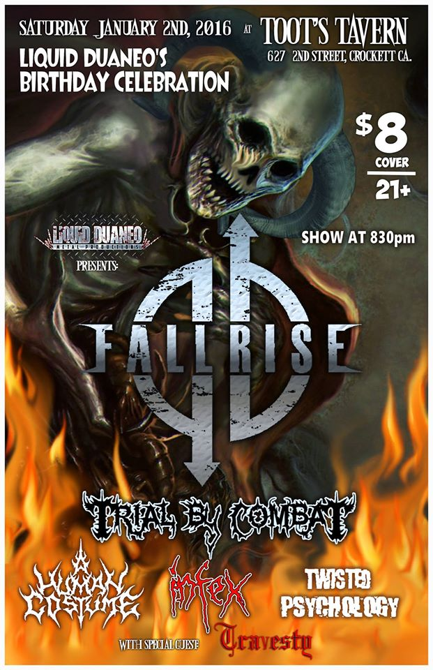 Celebrate Liquid Duano's Birthday With Fallrise, Infex AndMore…