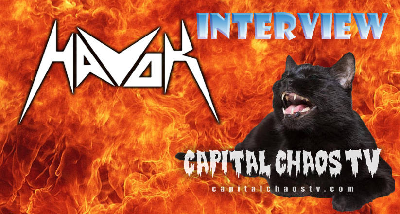 David Sanchez of Havok discusses cherry picking opening bands for recent headlining tour, gear, influences and more