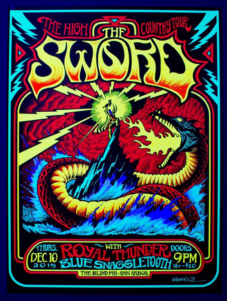 The Sword North American Tour Announced
