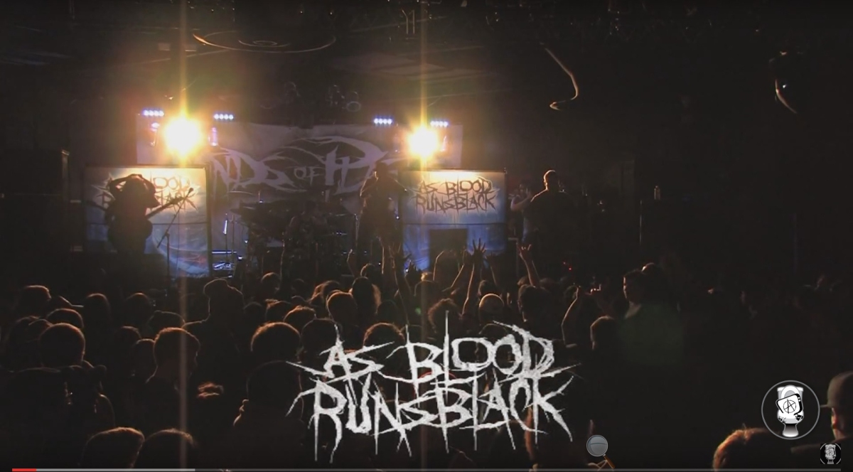 Deathcore Blast From The Past: As Blood Runs Black @ Ace Of Spades