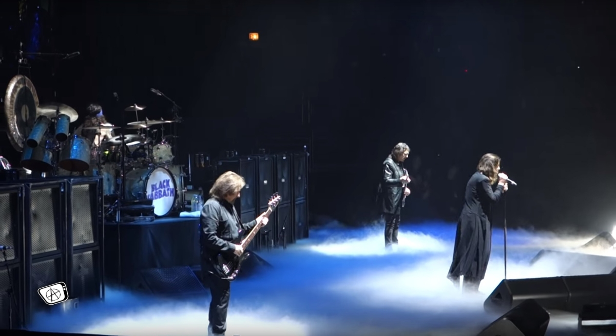 Black Sabbath Live In Chicago Video