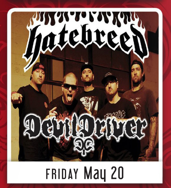 Hatebreed, Devildriver and The Devil You Know California Tour Dates Leaked