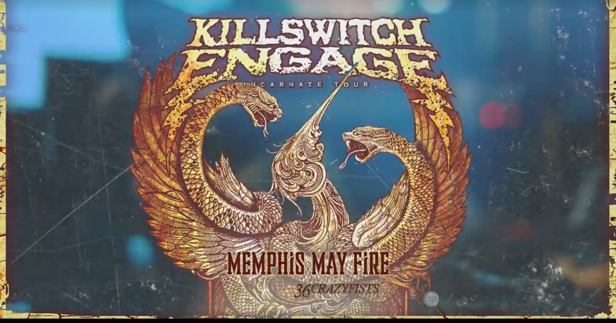 Killswitch Engage Announce North American Tour Dates With Sacramento And Pomona In California