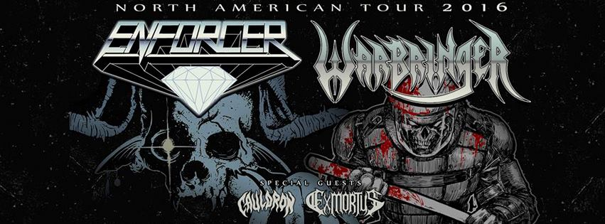 Warbringer kick off North American tour dates‏