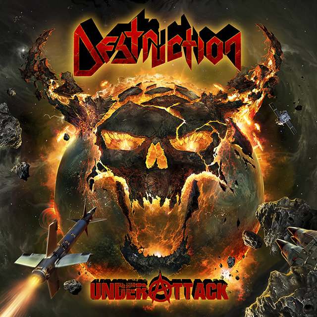 "Destruction Reveal Cover Artwork For ""Under Attack"""