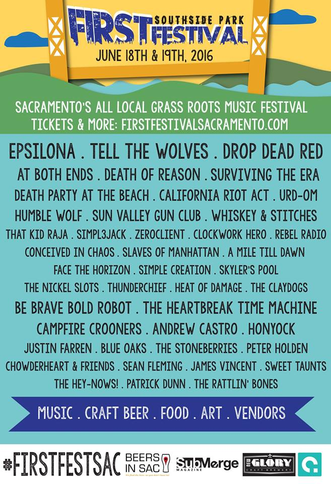 Sacramento's First Festival 2016 Line UpAnnounced