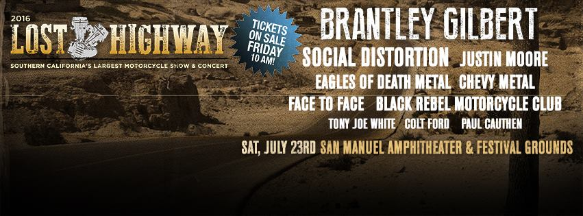 2nd annual Lost Highway Motorcycle show and concert lineupannounced!