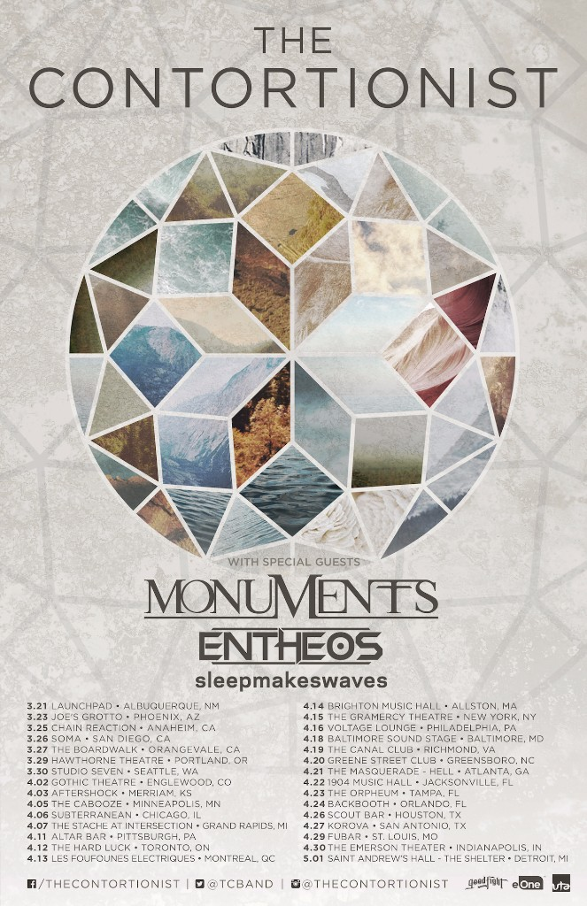 contortionist tour