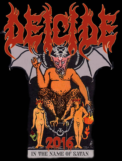 Deicide Blast America With 'In The Name Of Satan' Tour