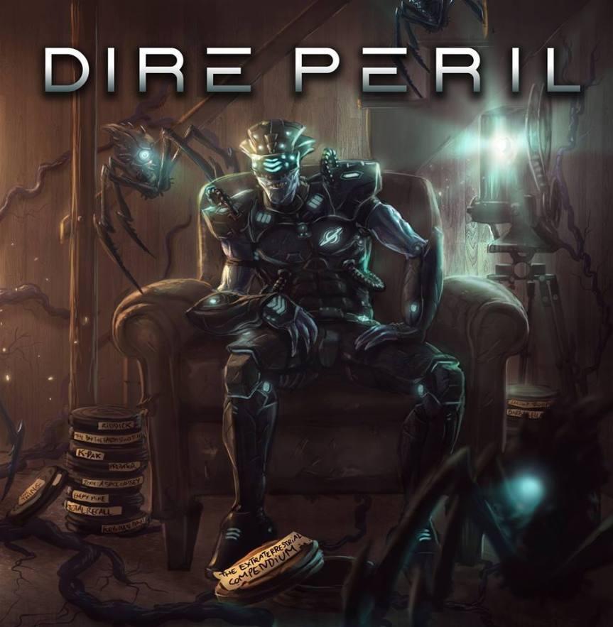 Dire_Peril_-_The_Extraterrestrial_Compendium_cd_cover