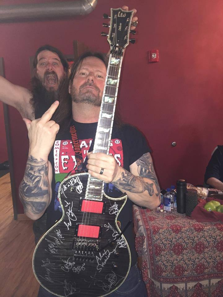 Gary Holt Of Slayer And Exodus Raffles Off Guitar And Fundraiser For Friend WithCancer