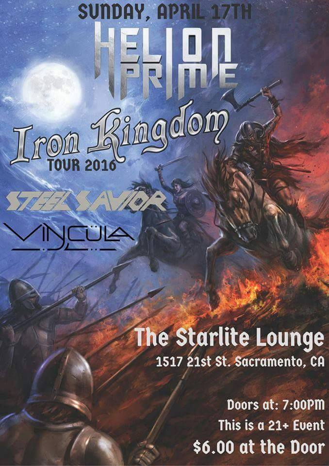 The Return Of Steel Savior With Helion Prime, Vincula And IronKingdom