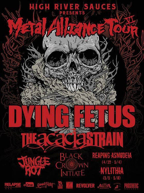 The Metal Alliance Gets Smaller And Smaller With Dying Fetus And JungleRot