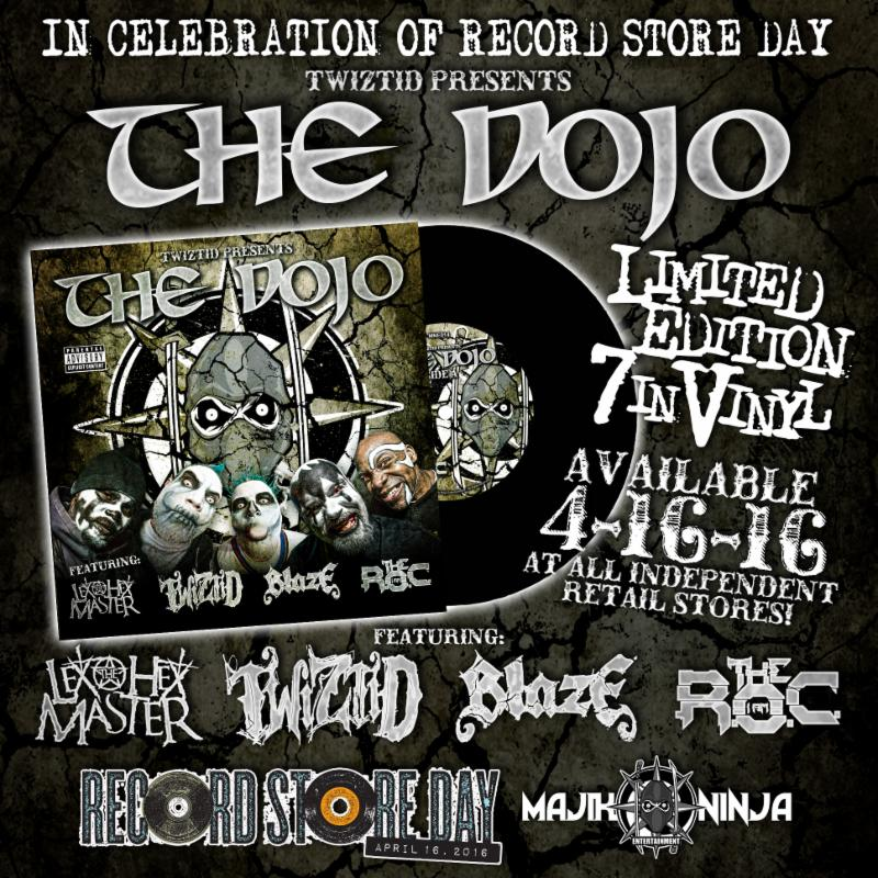 Record Store Day Exclusive – Twiztid Presents 'THE DOJO' Limited Edition 7-Inch Vinyl Single‏