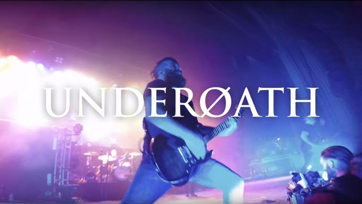 Underoath Live In San Francisco Multi Camera Video Stream