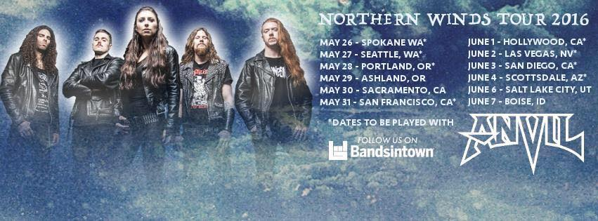 Unleash The Archers U.S. Tour With Graveshadow To Hit Northern California In Sacramento And San Francisco