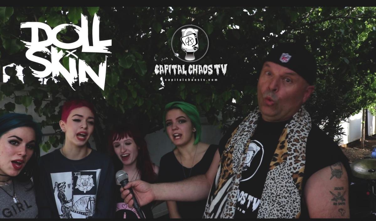 Doll Skin Interviewed In Orangevale,California