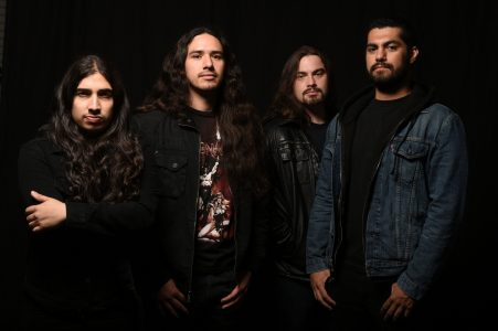 New video of EXMORTUS feat. members of WARBRINGER live in Sacramento, California