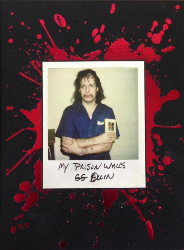"GG Allin ""My Prison Walls"" Kindle edition now available‏"