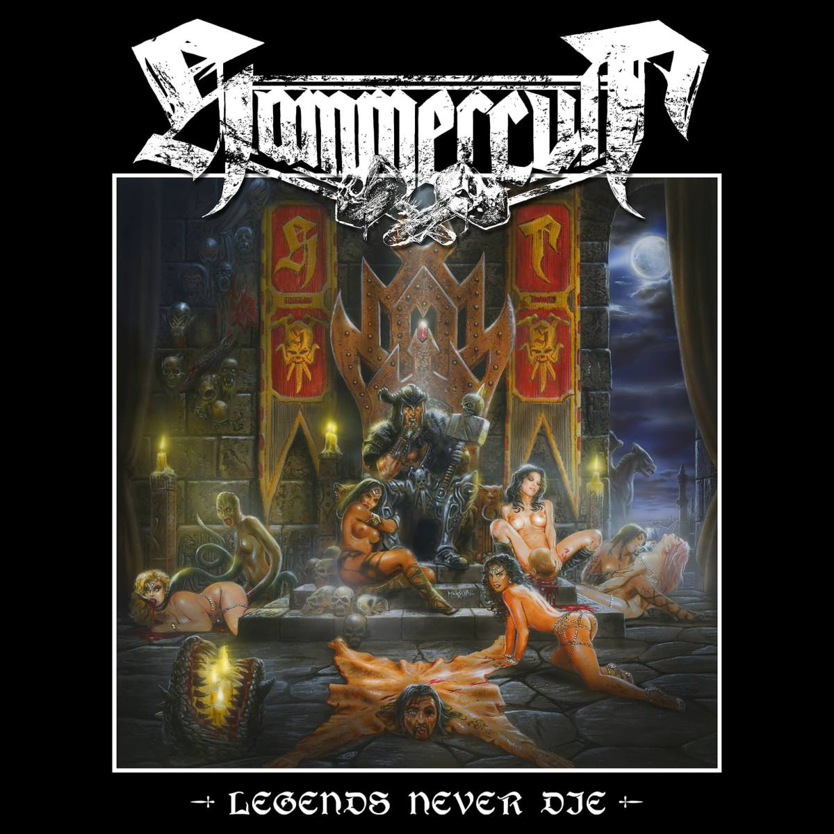 Hammercult To Release Legends Never Die EP June 17th on SPV/Steamhammer‏
