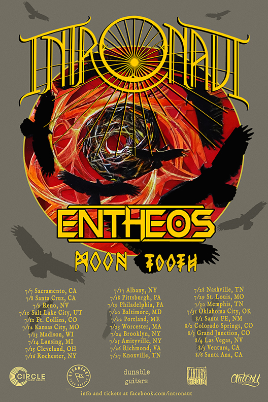 INTRONAUT Announce Summer Tour Dates with Entheos + Moon Tooth‏