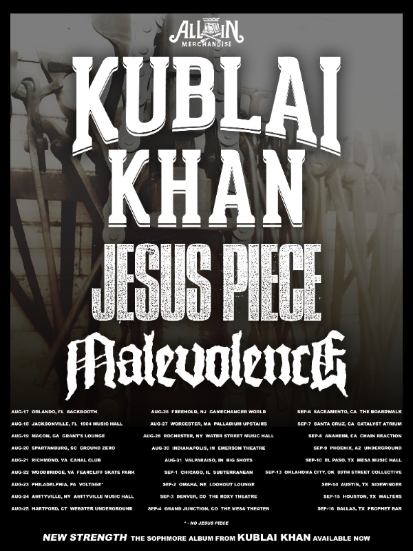 Kublai Khan Tour WithMalevolence