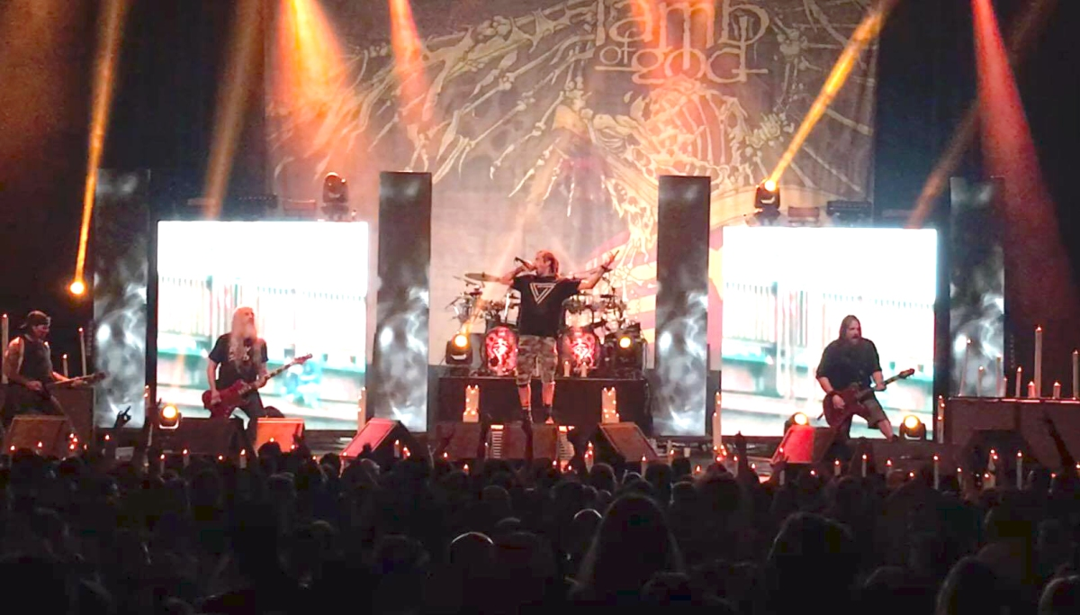 Lamb Of God Rage Furious And Frantic At The Fox Theater in Oakland, California
