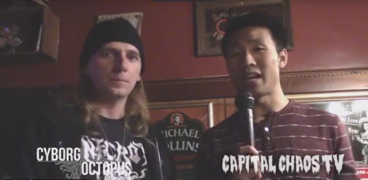 David Wu of Cyborg Octopus Interviewed In Crockett,California