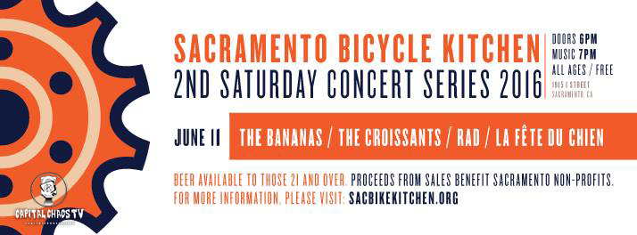Second Saturday Soiree To Benefit Sacramento Bicycle Kitchen